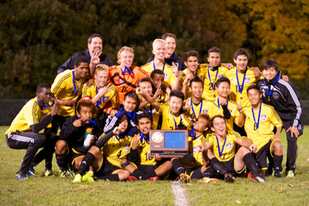 Section champs: Como Park High School's boys socccer team