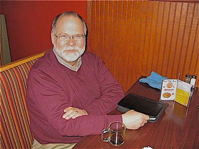 Bob Olsen. Park Bugle photo by Roger Bergerson