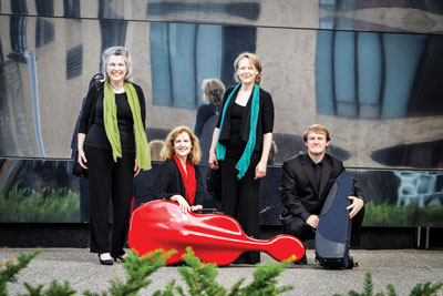 The Artaria String Quartet will open the Music in the Park Family Series in February.