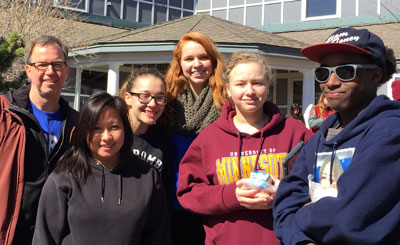 Xeehlue Vang, Kari Gurney, Kelly Chase, Alyssa Brown, and Will Toney.