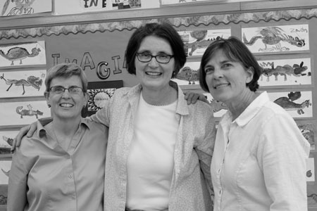 Kathleen Maguire, Colleen Osterbauer and Judy Roe. Photos by Kristal Leebrick