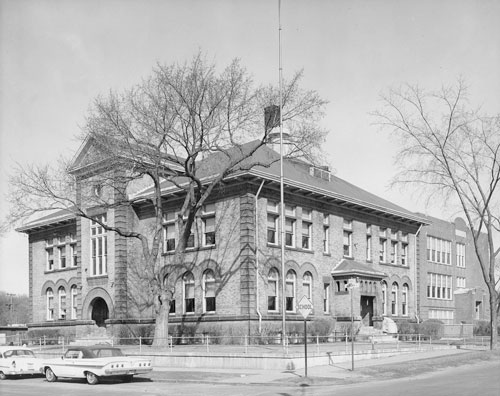 Tilden School in the 1960s
