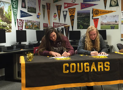 Como Volleyball Stars Sign College Commitments