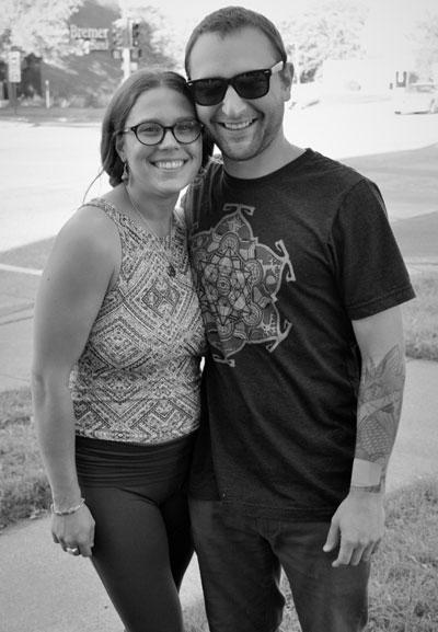 Healing Elements proprietors Samantha Huet and Nick Shvetzoff