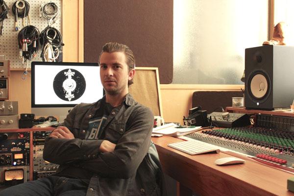 Levi Stugelmeyer at Summer Winter Studios in the Vandalia Tower, 550 Vandalia St. Photo by Kristal Leebrick