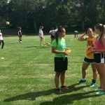 Como girls' soccer captains Tu Lor Eh Paw, Marie Wulff and Emily Forstrom discuss plans for a captains' practice in early August. High school coaches and players officially kicked off the fall season on Aug. 15.