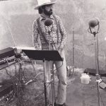 """Garrison Keillor was featured in the June 1976 issue of the Park Bugle. Forty years later, his stint at """"A Prairie Home Companion"""" ended. We aren't sure who took this photo as there was no credit or caption in that 1976 issue of the Bugle."""