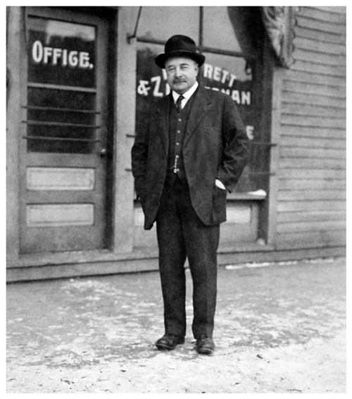 Moses Zimmerman in 1922 Photo courtesy of the Minnesota Historical Society