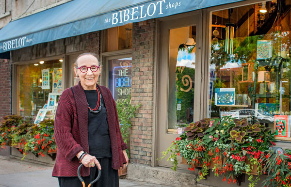 Roxy Freese opened the first Bibelot Shoppe on Como Avenue in 1966. Photo by Mike Krivit