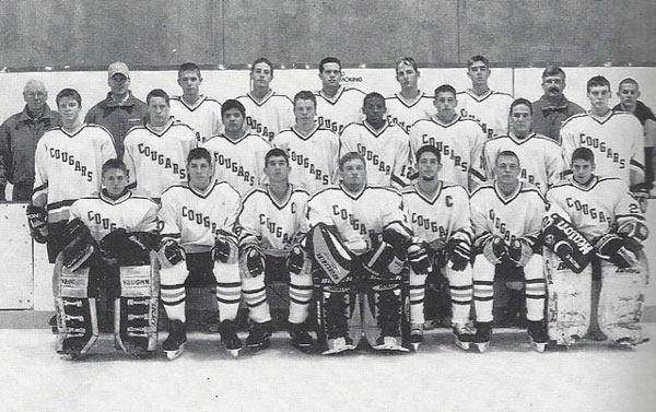 The 2000-2001 Como hockey team tied Cretin for the St. Paul City Championship.